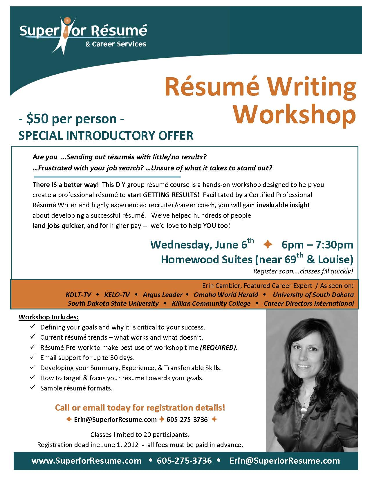 superior resume career services group training